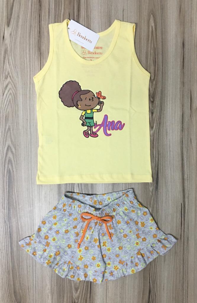 Pijama Infantil Regata Feminino - Ana baby