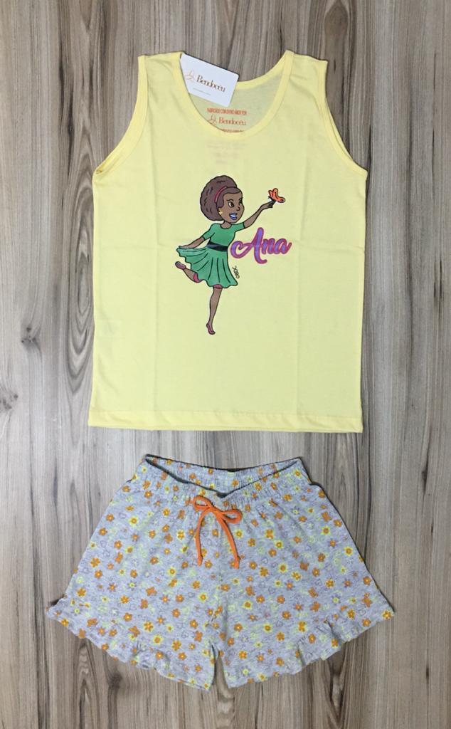 Pijama Infantil Regata Feminino - Ana Teens