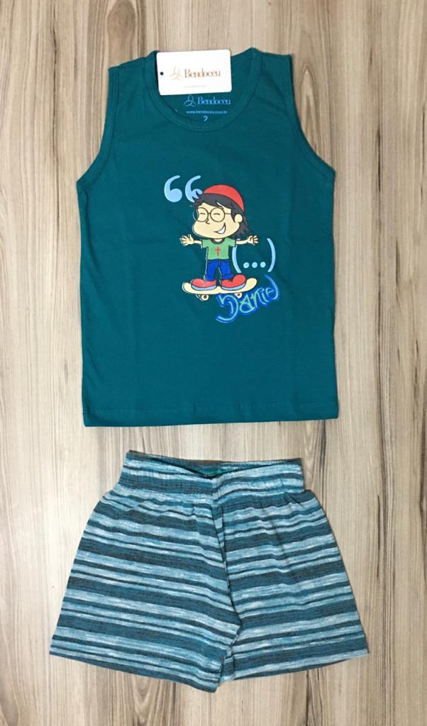 Pijama Infantil Regata Masculino- Daniel baby