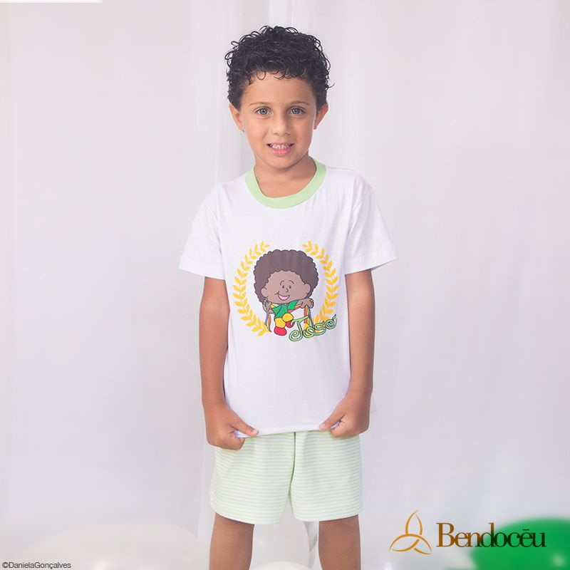 Pijama José - Modelo Verde