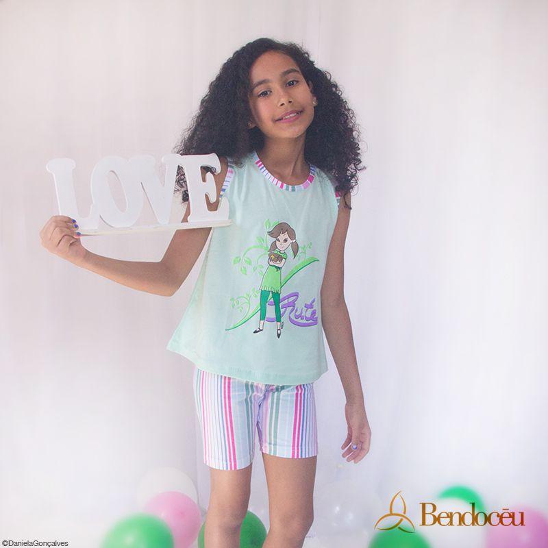 Pijama Rute - Doce Verão  - Bençãos do Céu