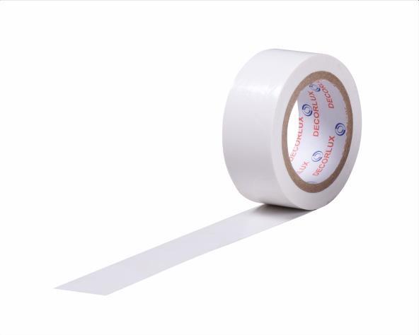 Fita isolante 18mmx5m cor branco, tubo (10un.)