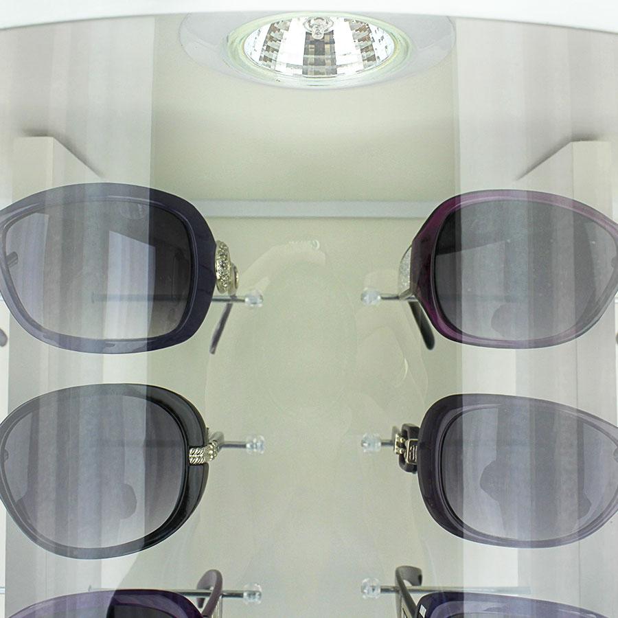 015p - Expositor De Chão Para 36 Óculos Personalizado