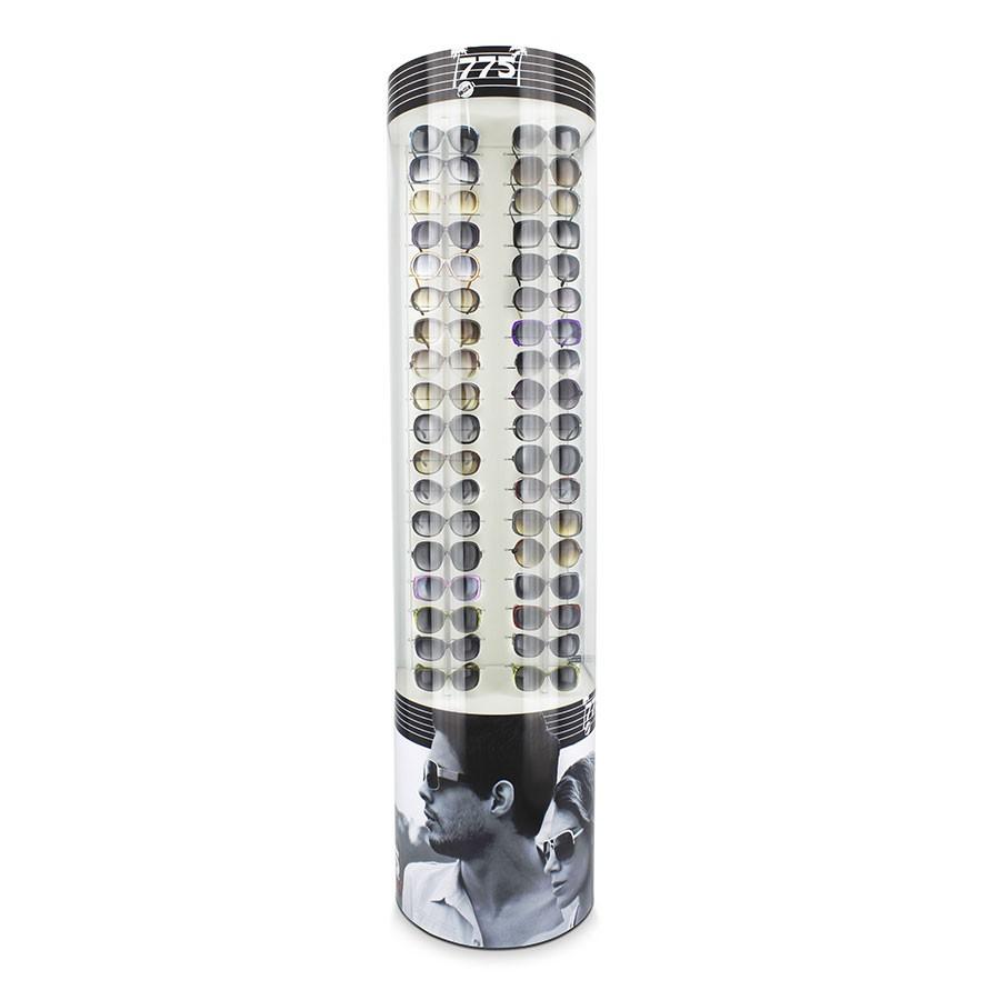 133p - Expositor De Chão Para 36 Óculos Personalizado