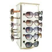 157 - Expositor De Balcão Giratório Para 20 Óculos