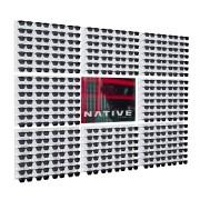 220p - Expositor De Parede Para 224 Óculos Personalizado