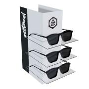 238pk - Expositor Para 3 Óculos Personalizado - Kit 20/un
