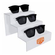 260pk - Expositor Para 3 Óculos Personalizado - Kit 30/un