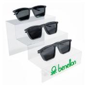 261pk - Expositor Para 3 Óculos Personalizado - Kit 30/un