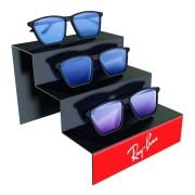 262pk - Expositor Para 3 Óculos Personalizado - Kit 30/un