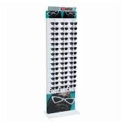 270p - Expositor De Chão Com Trava Para 42 Óculos Personalizado