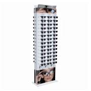 271p - Expositor De Chão Com Trava Para 84 Óculos Personalizado