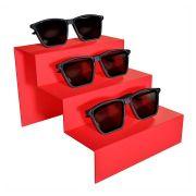 278 - Expositor De Vitrine Para 3 Óculos