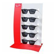 Kit264s - Expositor Para 5 Óculos Personalizado - Kit 10/un
