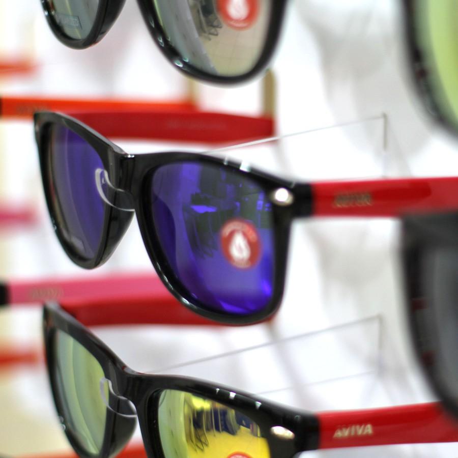 208p - Expositor De Chão Para 21 Óculos Personalizado