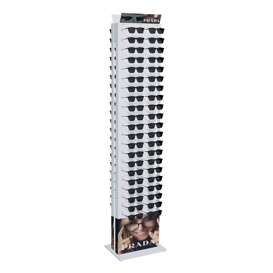 211p - Expositor De Chão Para 84 Óculos Personalizado