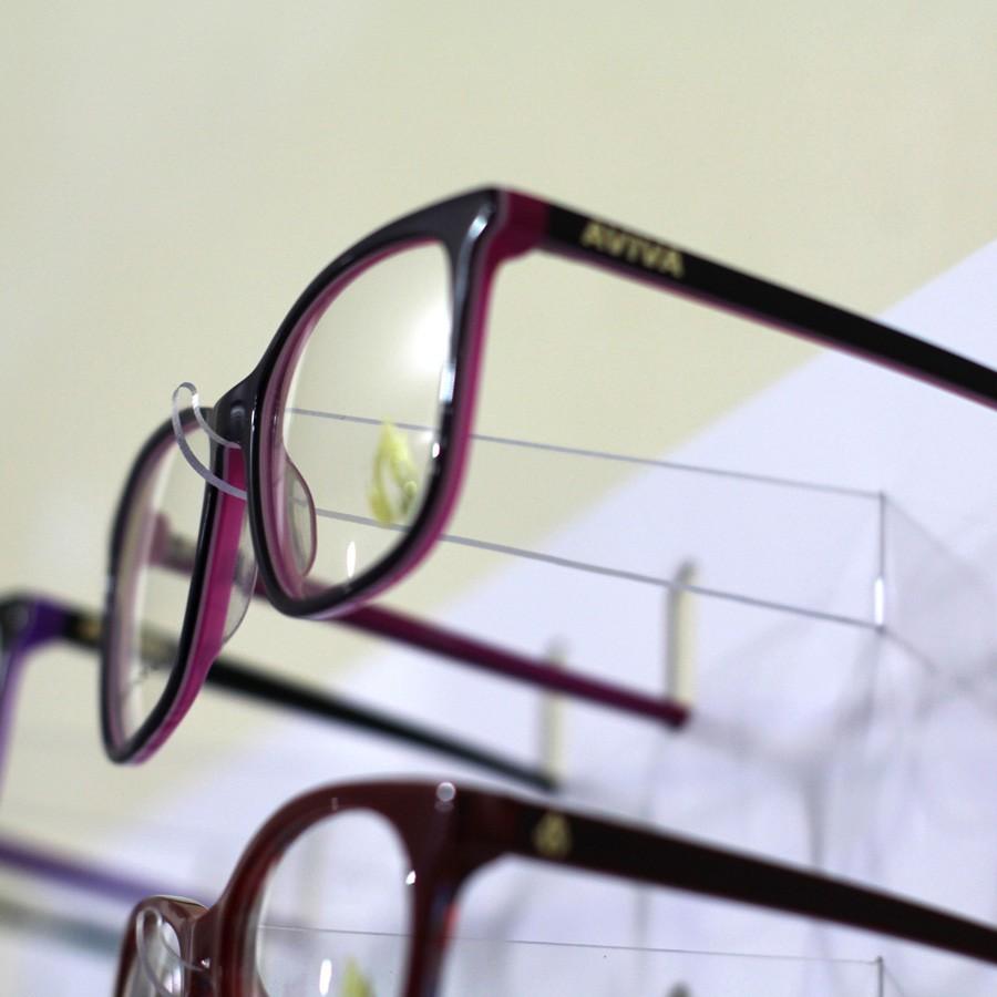 219 - Expositor De Parede Para 252 Óculos