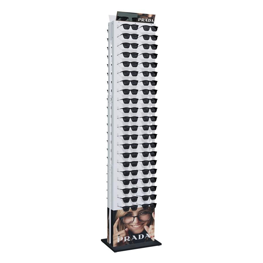 226p - Expositor De Chão Para 84 Óculos Personalizado