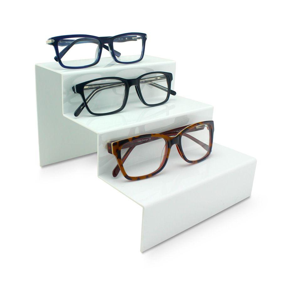 Kit083bs - Expositor Para 3 Óculos Personalizado - Kit 30/un