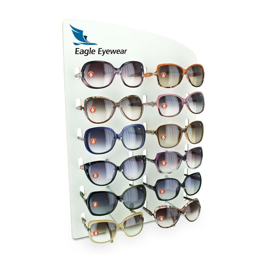 Kit145 - Expositor Para 12 Óculos - Kit 10/un