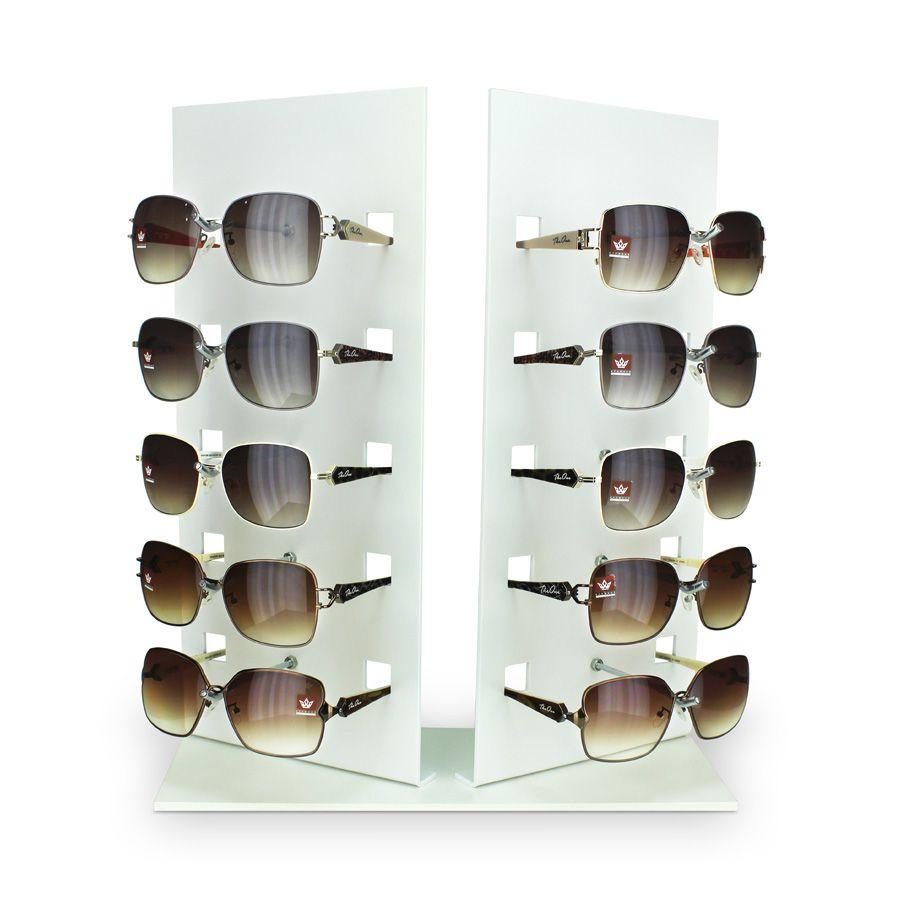 Kit147s - Expositor Para 10 Óculos Personalizado - Kit 20/un