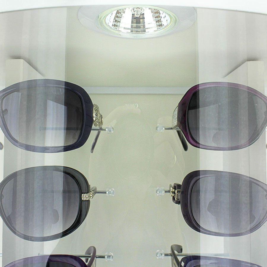 Me015s - Expositor De Chão Para 36 Óculos Personalizado