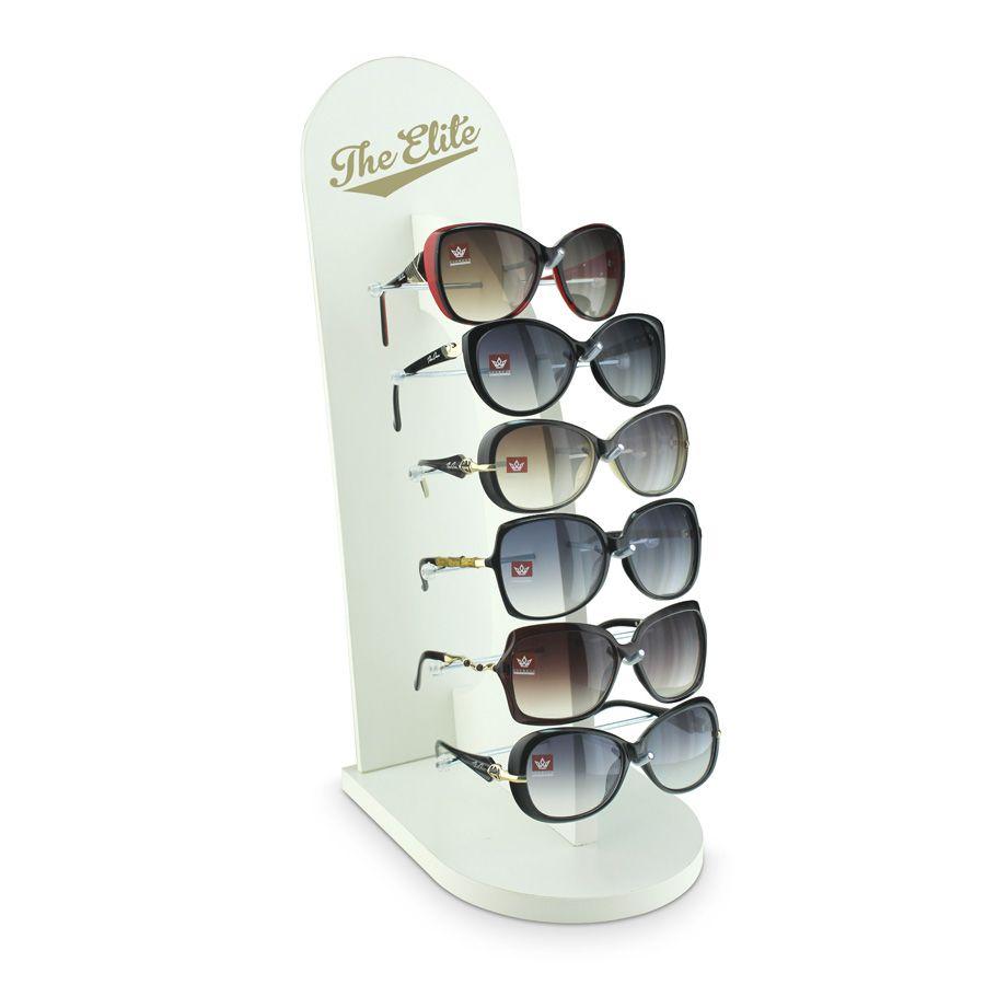 Me041 - Expositor De Vitrine Para 6 Óculos