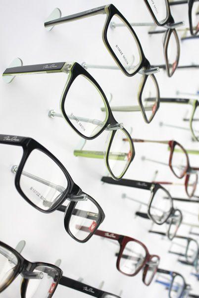 Me049 - Expositor De Parede Para 60 Óculos
