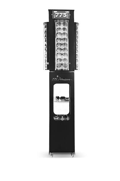 Me077 - Expositor De Chão Giratório Para 36 Óculos