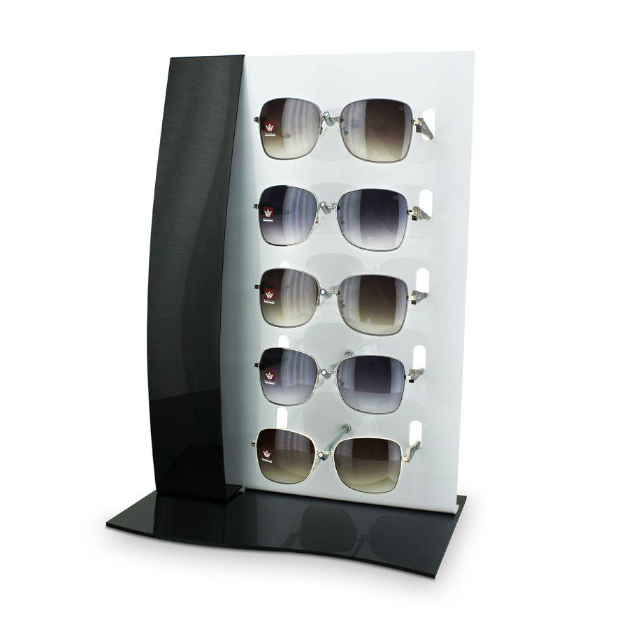 Me103p - Expositor De Vitrine Para 5 Óculos