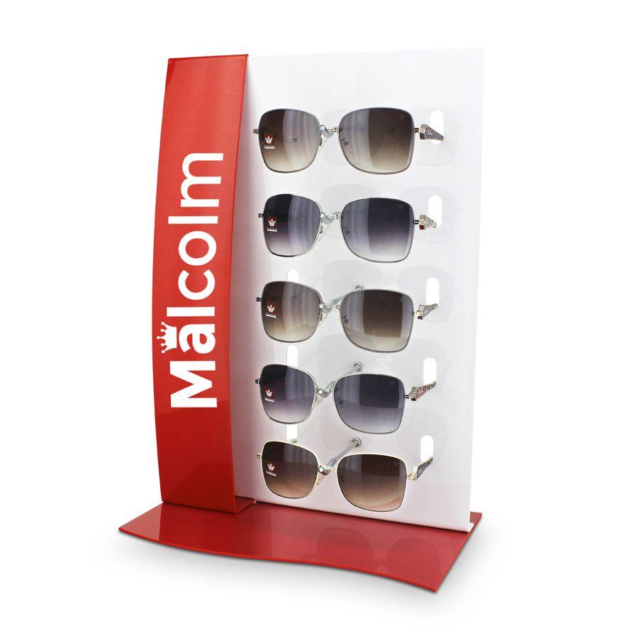 Me103v - Expositor De Vitrine Para 5 Óculos