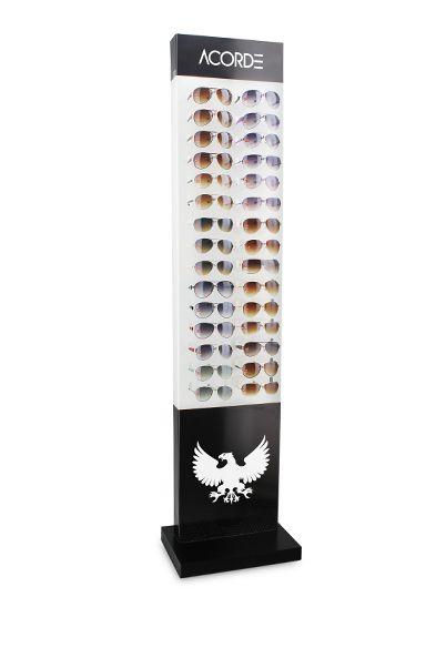 Me122s - Expositor De Chão Para 30 Óculos Personalizado
