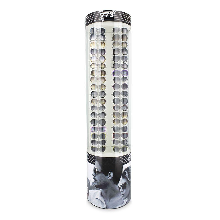 Me133s - Expositor De Chão Para 36 Óculos Personalizado