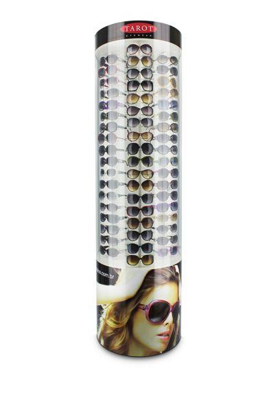 Me134s - Expositor De Chão Para 54 Óculos Personalizado