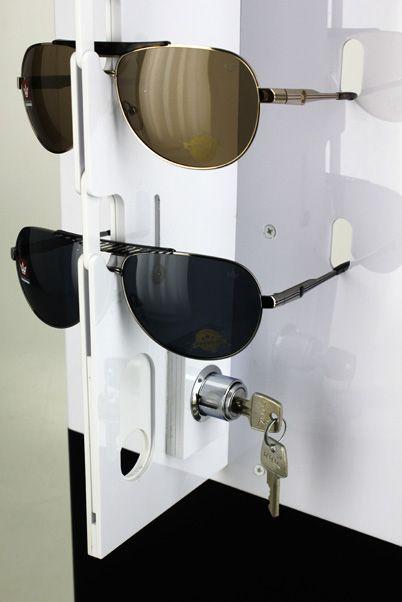 Me138s - Expositor De Chão Com Trava Para 42 Óculos Personalizado