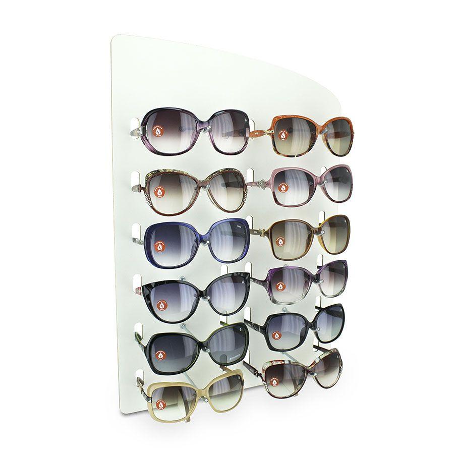 Me145 - Expositor De Balcão Para 12 Óculos