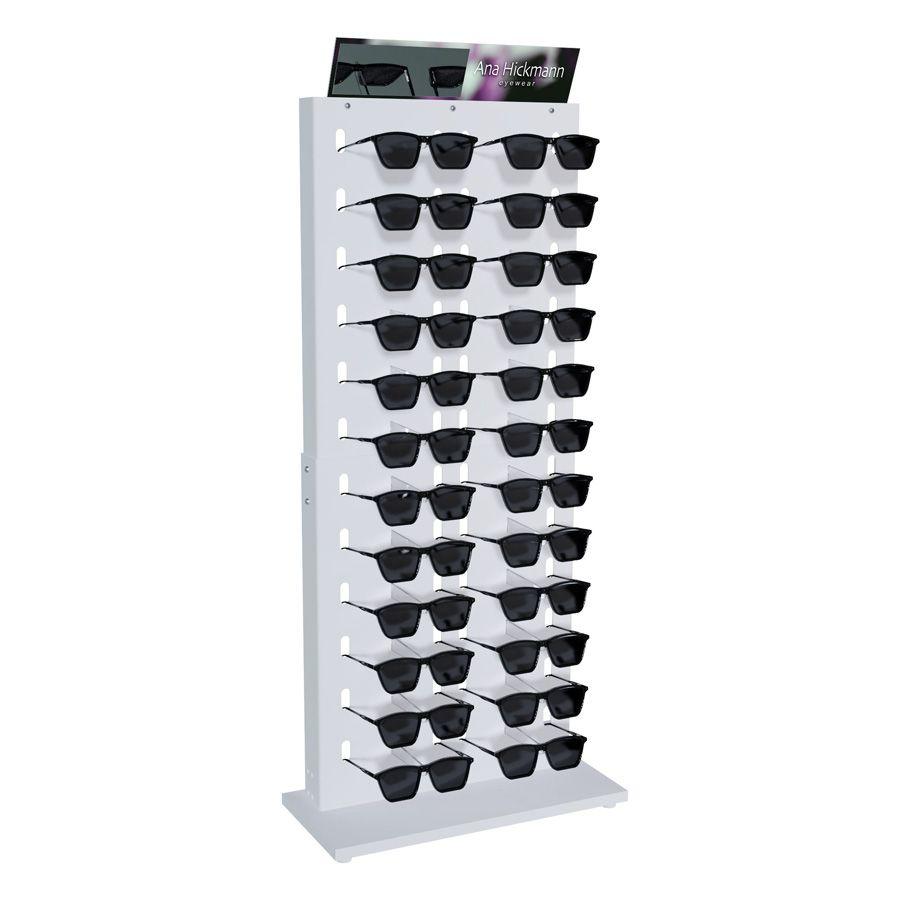 Me207s - Expositor De Balcão Para 24 Óculos Personalizado