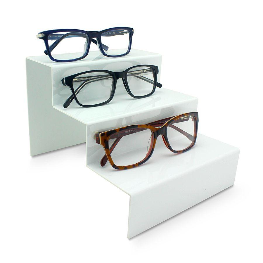 Me260 - Expositor De Vitrine Para 3 Óculos