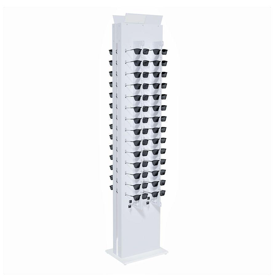 Me269s - Expositor De Chão Com Trava Para 56 Óculos Personalizado