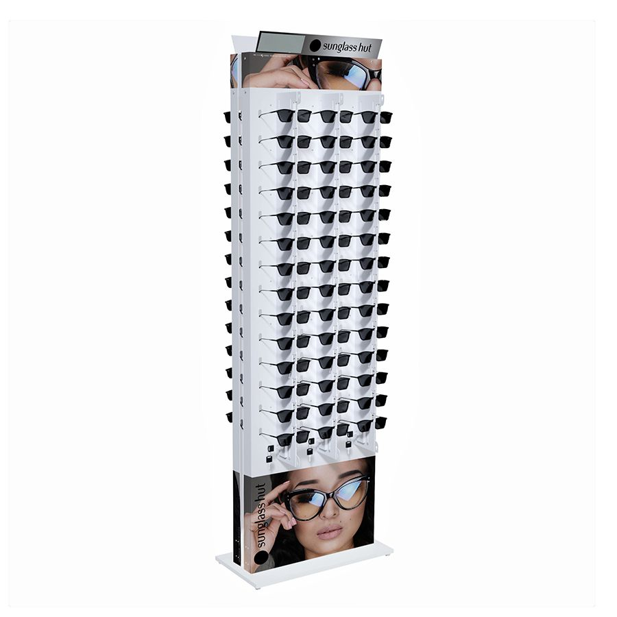 Me271s - Expositor De Chão Com Trava Para 84 Óculos Personalizado