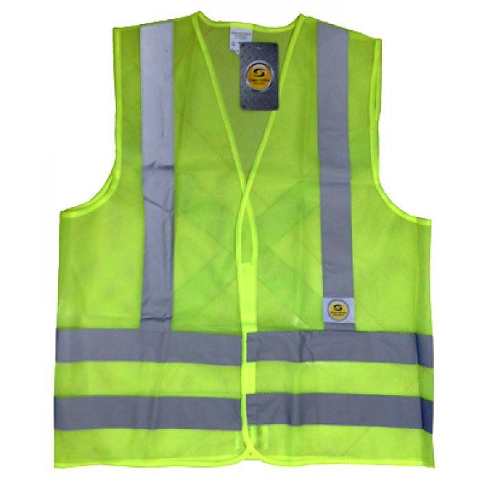 85b8c2e85edea Colete Refletivo Amarelo Sem Bolsos Super Safety - Protektus EPIs
