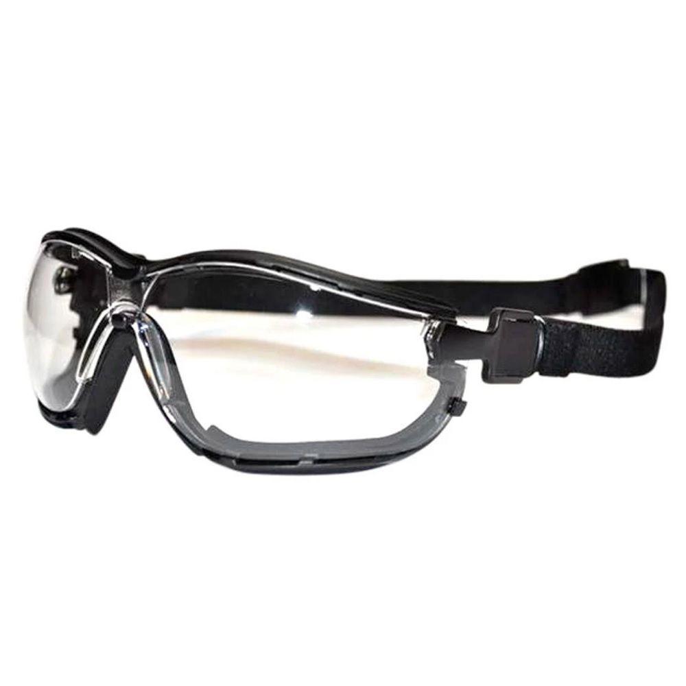 47a95d9436923 Óculos de Proteção Ampla Visão Tahiti Incolor Kalipso - Protektus EPIs.  Image description