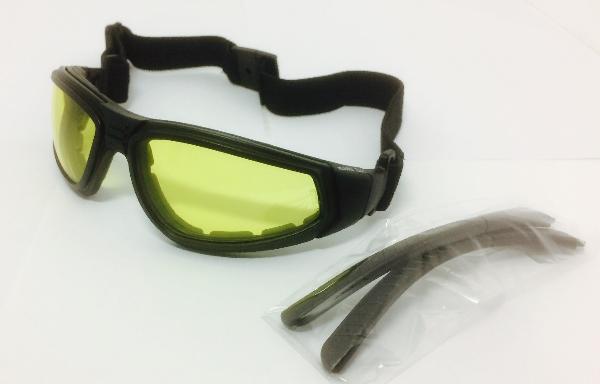 Óculos de Proteção Albatross Amarelo Antiembaçante MSA - Protektus EPIs.  Image description 950cb46bff