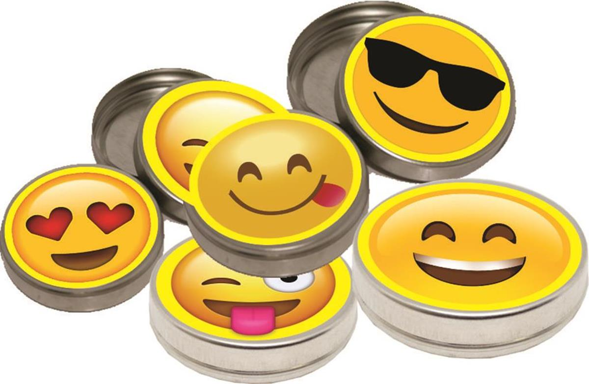 10 latinhas Emoji