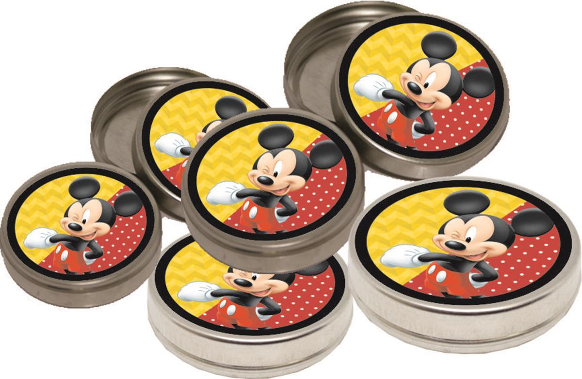 10 latinhas Mickey