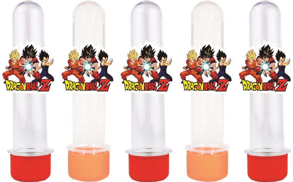 10 tubetes dragon ball Z