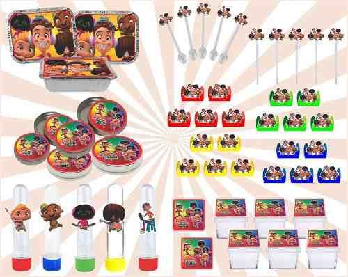 Kit Festa Infantil Mini Beat Power Rockers 114 Pças