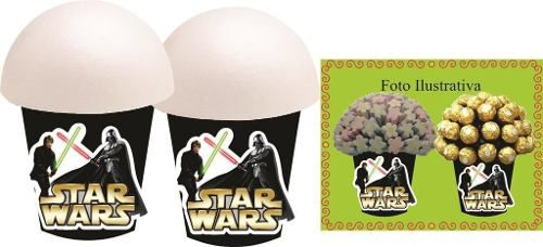 Kit Festa Star Wars 160 Peças