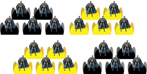 Kit Festa Infantil Batman 107 Peças