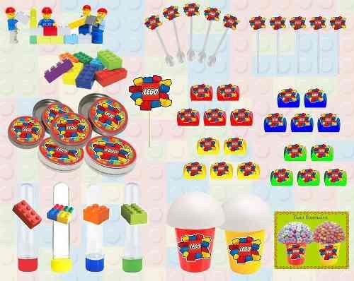 Kit Festa Infantil Lego 265 Peças